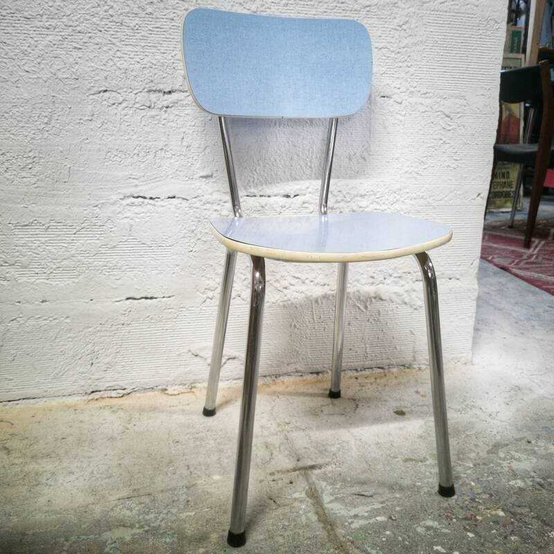 Chaise en formica vintage d'occasion | Old'Upcycling