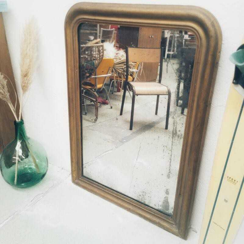 Miroir Louis Philippe 98 x 70cm | Old'Upcycling