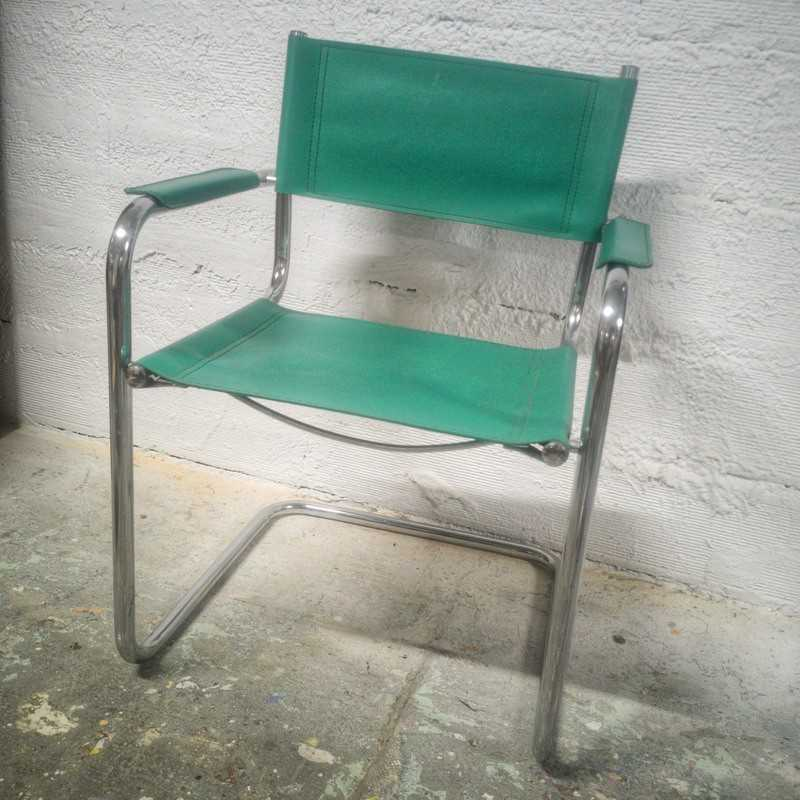Fauteuil Design B34 By Marcel BREUR   Old'Upcycling