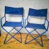 Paire de fauteuils pliants Lafuma vintage | Old'Upcycling