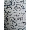 Carte de la Principauté de Catalogne - 1694 | Old'Upcycling
