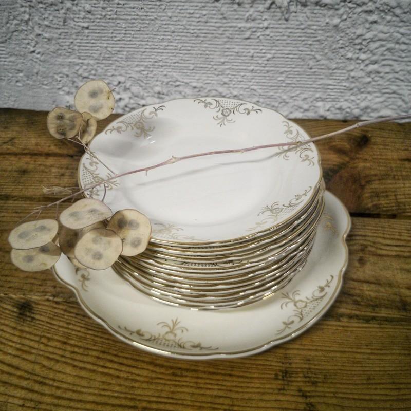 Service à gâteau Villeroy & Boch   Old'Upcycling
