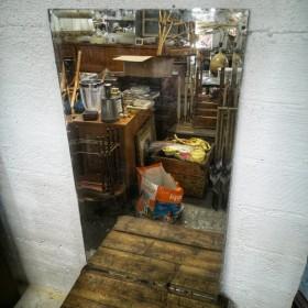 Grand miroir biseauté 120x66cm